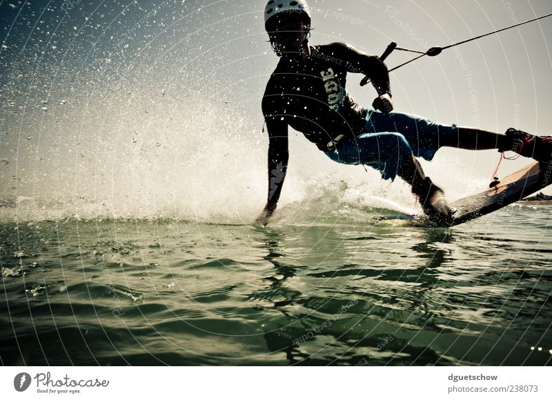 Man Water Green Joy Adults Sports Movement Lake Masculine Drops of water Athletic Surfing Surface of water Surfer Sportsperson Aquatics