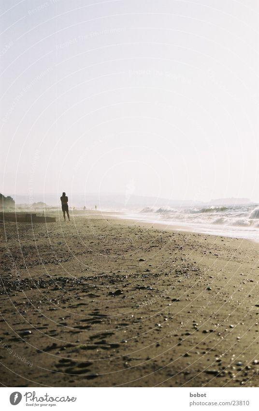 Sky Sun Ocean Beach Vacation & Travel Warmth Sand Coast Europe Physics Hot Serene Sea water