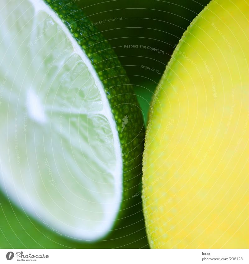 White Green Black Yellow Cold Fruit Esthetic Circle Cool (slang) Round Refreshment Symmetry Lemon Juicy Sheath Sour