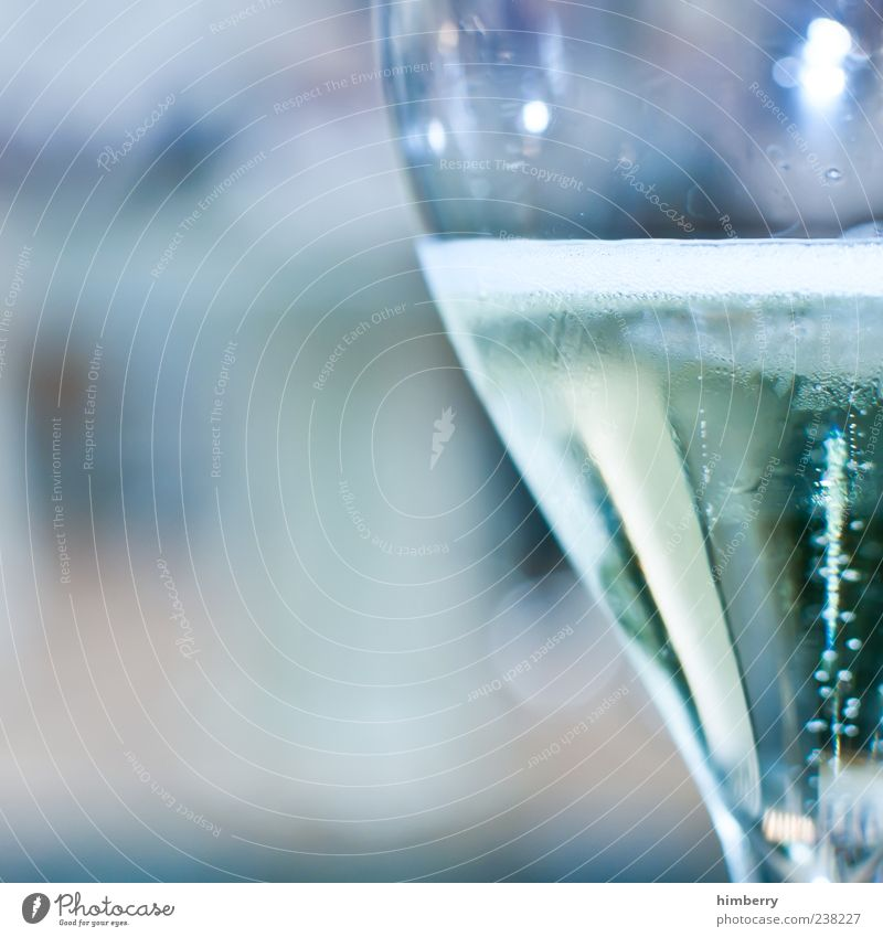 champagne breakfast Food Beverage Cold drink Alcoholic drinks Sparkling wine Prosecco Champagne Glass Champagne glass Fresh Emotions Colour photo Multicoloured