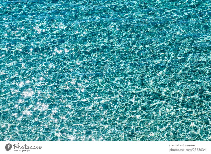 Mediterranean 1 Swimming & Bathing Vacation & Travel Summer Ocean Waves Water Fluid Glittering Maritime Blue Turquoise Pure Abstract Mediterranean sea