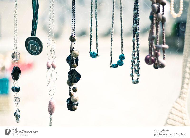 Blue White Beautiful Colour Art Pink Glittering Elegant Arrangement Illuminate Many Jewellery Collection Hang Silver