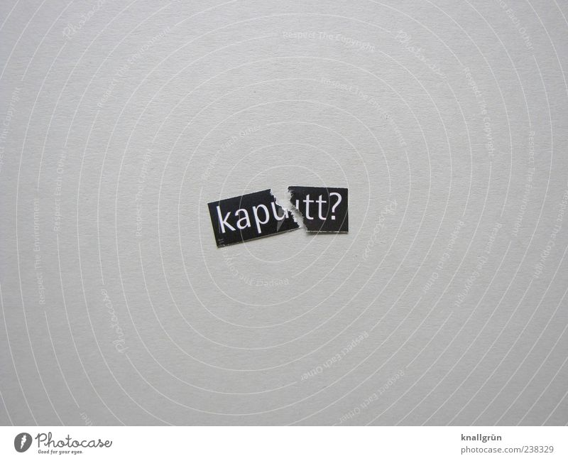 Kapu tt? Characters Signs and labeling Communicate Sharp-edged Broken Gray Black White Emotions Concern Disappointment Exhaustion Guilty Adversity Ask