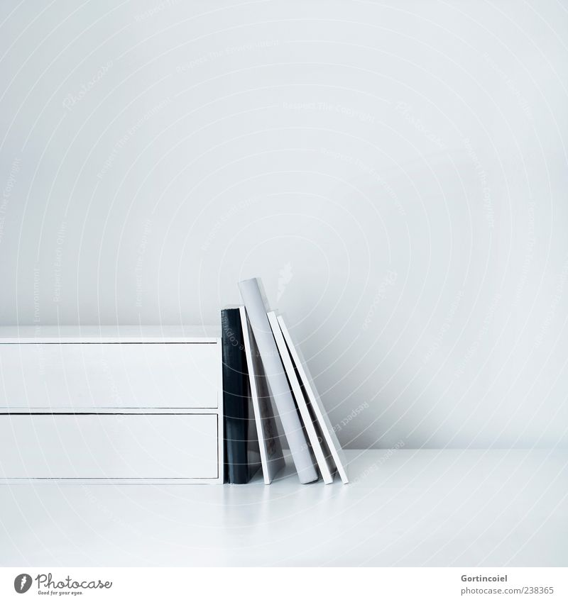 Grey Literature Education Academic studies Workplace Gray Book Desk Reading matter spine of a book Colour photo Subdued colour Interior shot Studio shot Detail