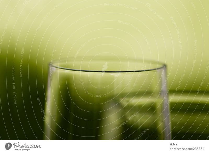 at the double Beverage Sparkling wine Prosecco Champagne Glass Champagne glass Colour photo Close-up Detail Shallow depth of field Reflection Round Corner