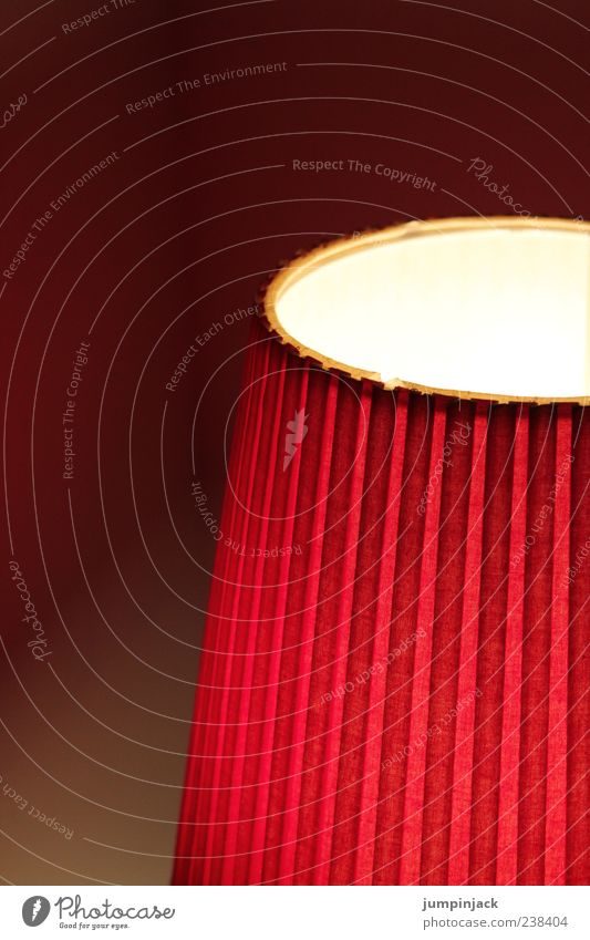 Red Lamp Moody Illuminate Stripe Striped Partially visible Lampshade Dark background