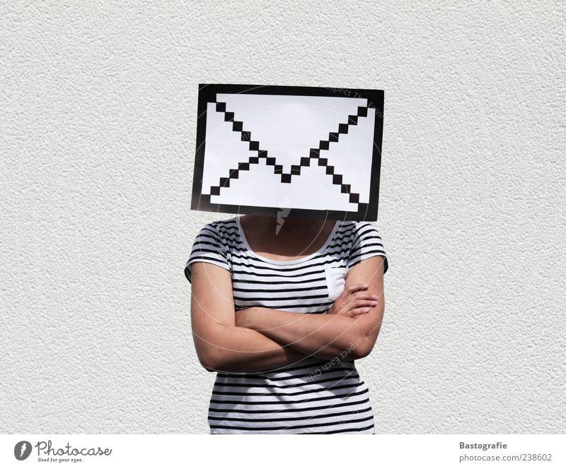 letterhead Feminine Email Mail Information Letter (Mail) Internet Web design Contact Pictogram Envelope (Mail) Pixel Zip code Colour photo Exceptional