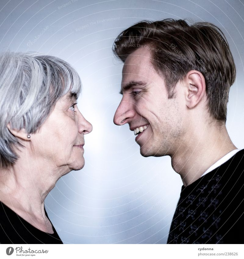 Human being Youth (Young adults) Joy Calm Adults Love Life Senior citizen Head Laughter Family & Relations Time Contentment 18 - 30 years Mother Young man
