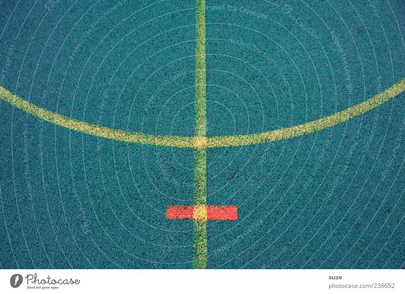Blue Yellow Sports Line Leisure and hobbies Signs and labeling Arrangement Places Floor covering Playing field Border Symmetry Arch Graphic Rubber Boundary
