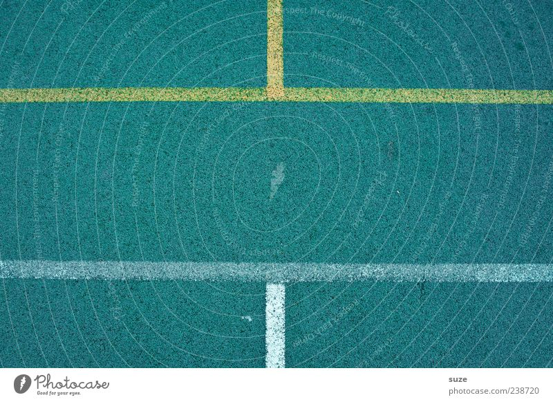 Blue Yellow Sports Line Leisure and hobbies Signs and labeling Arrangement Places Floor covering Playing field Border Copy Space Symmetry Graphic Direct Rubber