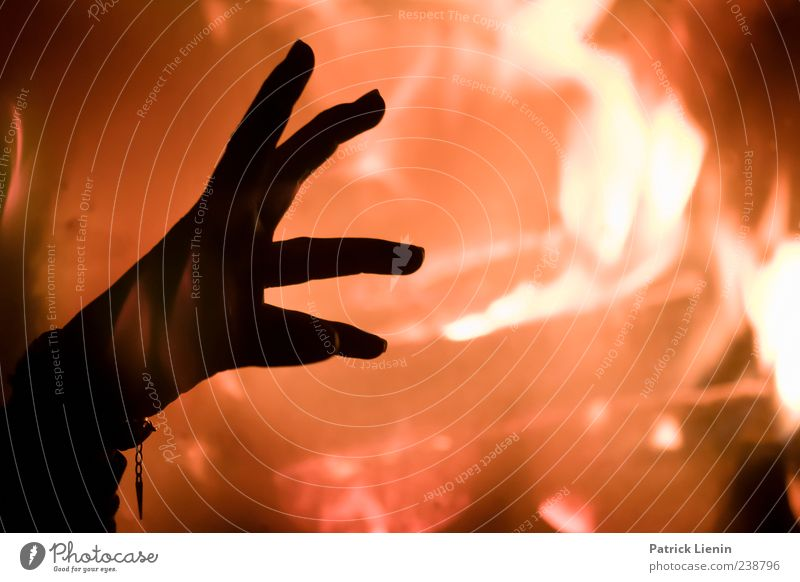 Human being Hand Colour Yellow Playing Art Bright Moody Power Elegant Energy Fingers Crazy Esthetic Fire Might