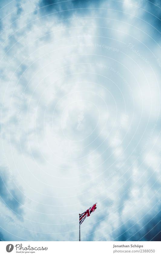 Sky Blue Red Clouds Dark Rain Europe Air Esthetic Sign Elements Flag Argument Blue sky England Blow