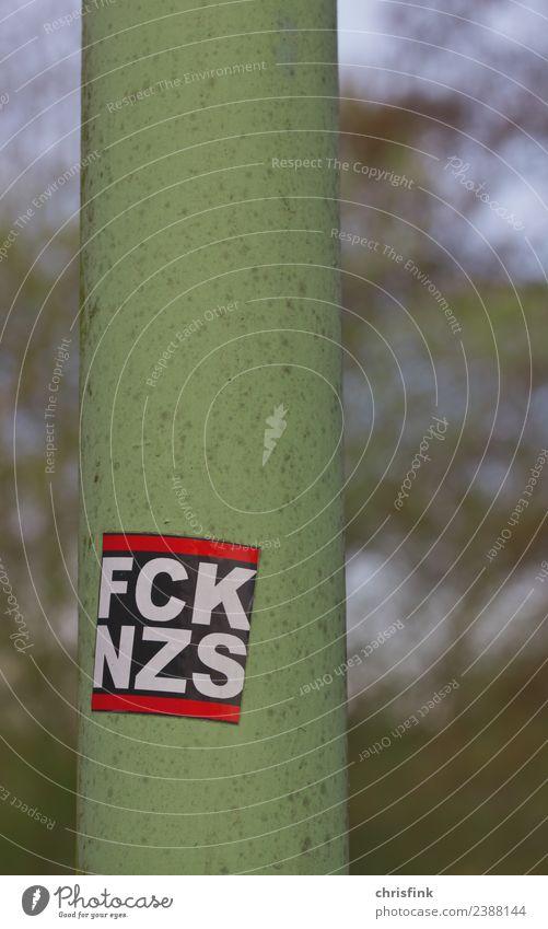 F*ck N*zis sticker Art Argument Sadness Emotions Honor Honest Tolerant Fairness Fear Horror Dangerous Frustration Threat Future Attachment Fascist neo-Nazi