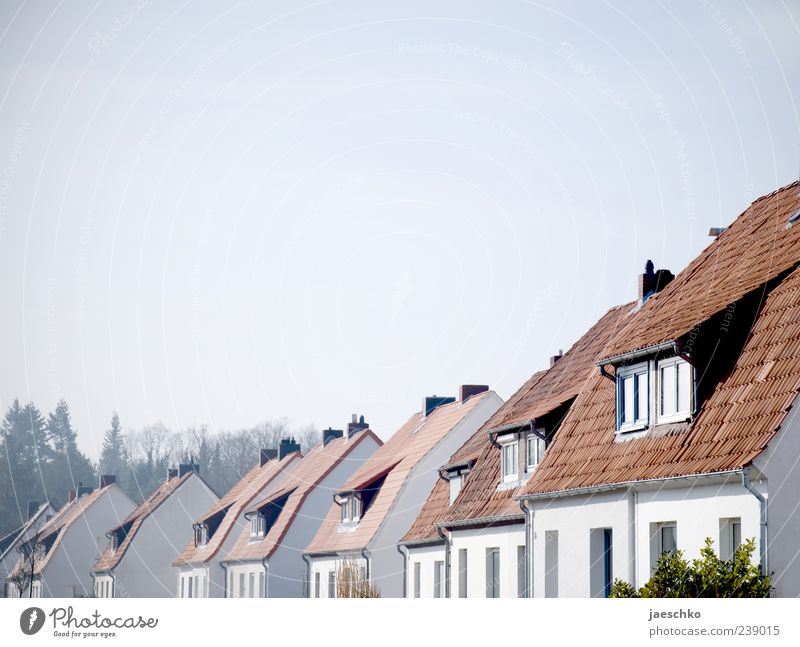 German Unity Small Town Outskirts House (Residential Structure) Detached house Living or residing Orderliness Modest Thrifty Contentment Equal Neighbor
