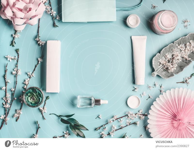 Summer Blue Beautiful Flower Leaf Healthy Background picture Style Fashion Pink Design Leisure and hobbies Modern Table Shopping Things