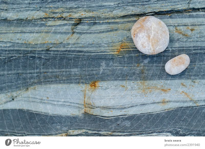 Stone and pebbles background. Nature Blue Colour Landscape White Ocean Relaxation Calm Beach Environment Natural Coast Art Brown Copy Space