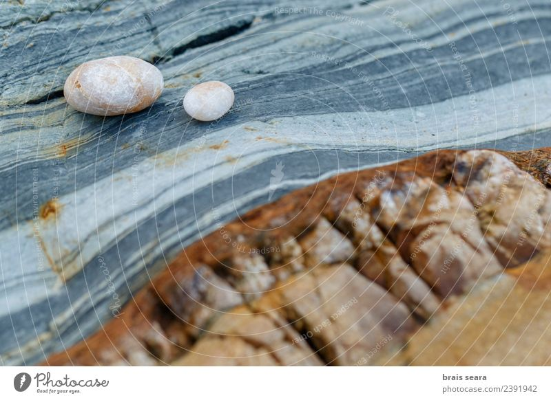 Stone and pebbles background. Nature Blue Colour Landscape White Ocean Relaxation Calm Beach Environment Natural Coast Art Brown Orange