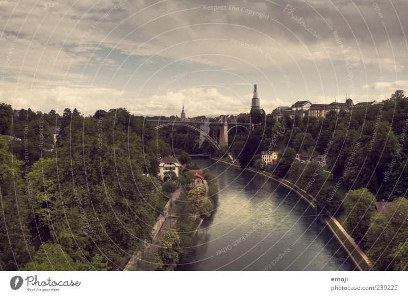 Old Sky Tree City Bridge River Natural Skyline River bank Capital city Outskirts Berne