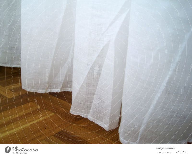 Old White Wood Line Brown Flat (apartment) Design Living or residing Decoration Floor covering Stripe Retro Cloth Wrinkles Hang Curtain