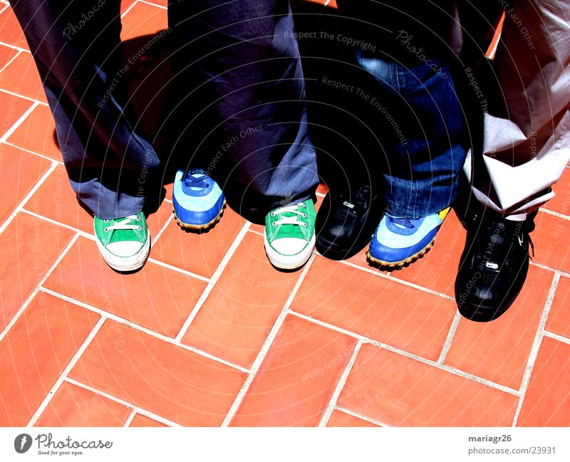 Group Friendship Footwear Floor covering 6