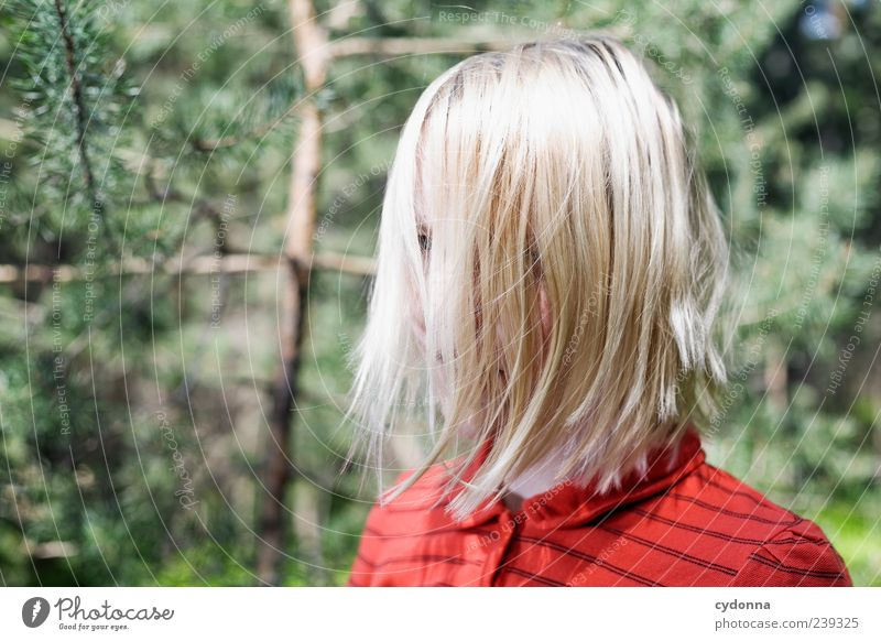 A-N-N-A Style Hair and hairstyles Face Calm Human being Young woman Youth (Young adults) Head 18 - 30 years Adults Environment Nature Esthetic Uniqueness Life