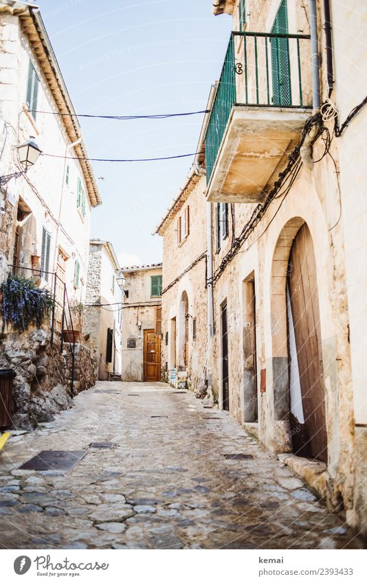 In the alleys of Valldemossa Harmonious Well-being Contentment Senses Relaxation Calm Vacation & Travel Trip Sightseeing City trip Summer Summer vacation Sun