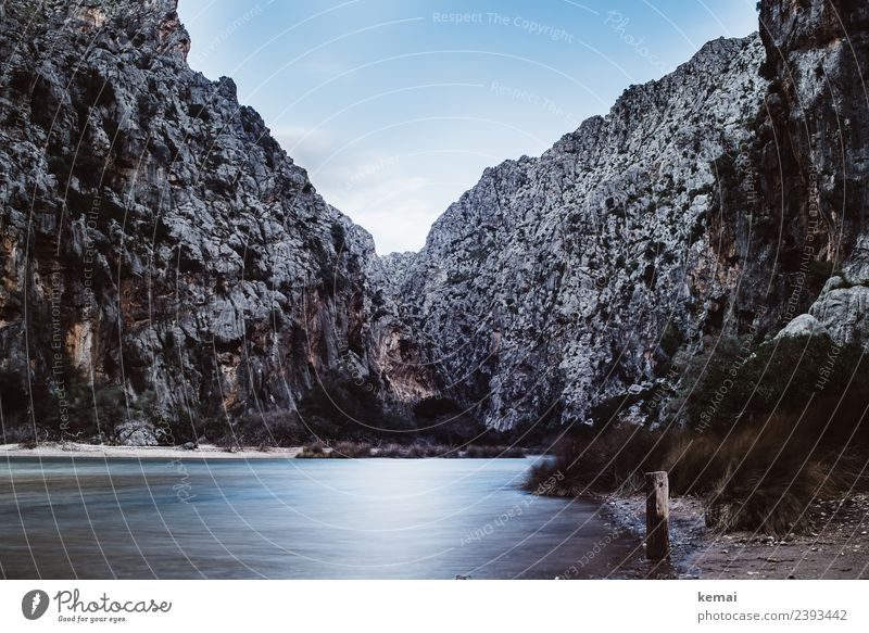 Sa Calobra Relaxation Calm Leisure and hobbies Vacation & Travel Trip Adventure Freedom Summer Hiking Nature Landscape Elements Water Sky Beautiful weather
