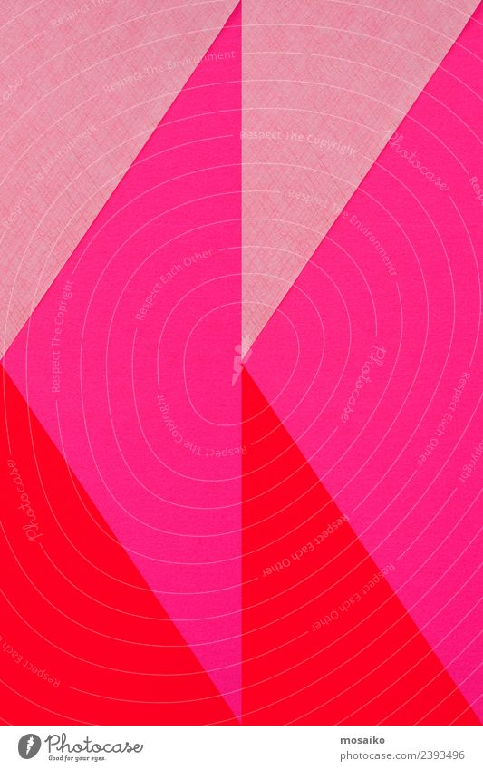 geometric shapes on paper texture Colour Style Happy Business Art Fashion Pink Design Bright Line Modern Creativity Paper Simple Wedding Information