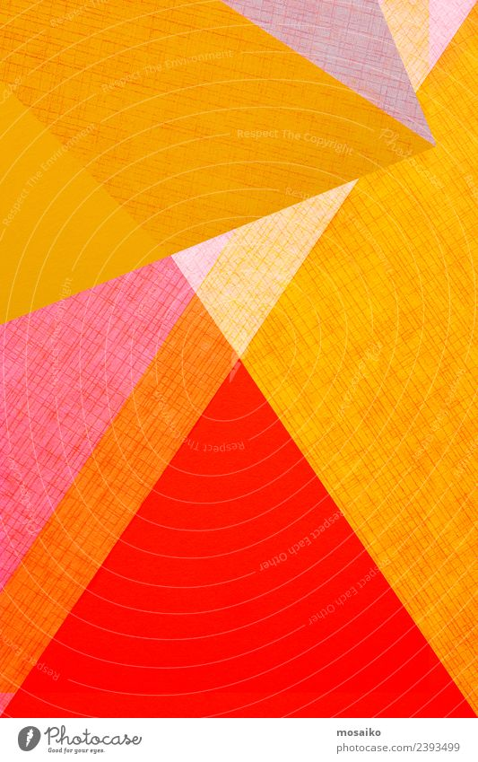 geometric shapes on paper texture Lifestyle Style Design Happy Wallpaper Wedding Business Art Fashion Paper Package Line Simple Bright Modern Colour Creativity