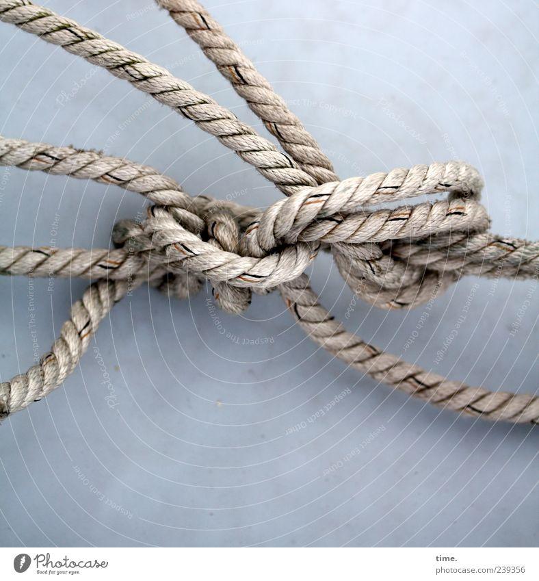 Gray Arrangement Esthetic Rope Knot Maritime Loop Bright background