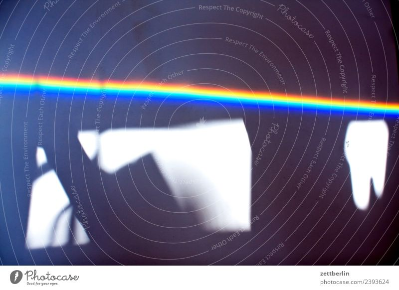 The Dark Side Of The Room Multicoloured Colour Light Refraction Beam of light Physics Prism Rainbow Prismatic colors Prismatic colour Spectral Wave length