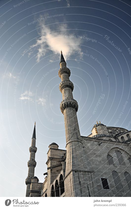 skyscrapers Istanbul Turkey Capital city Manmade structures Building Mosque Blue Mosque Sultanahmet Camii Tourist Attraction Gigantic Large Historic Beautiful