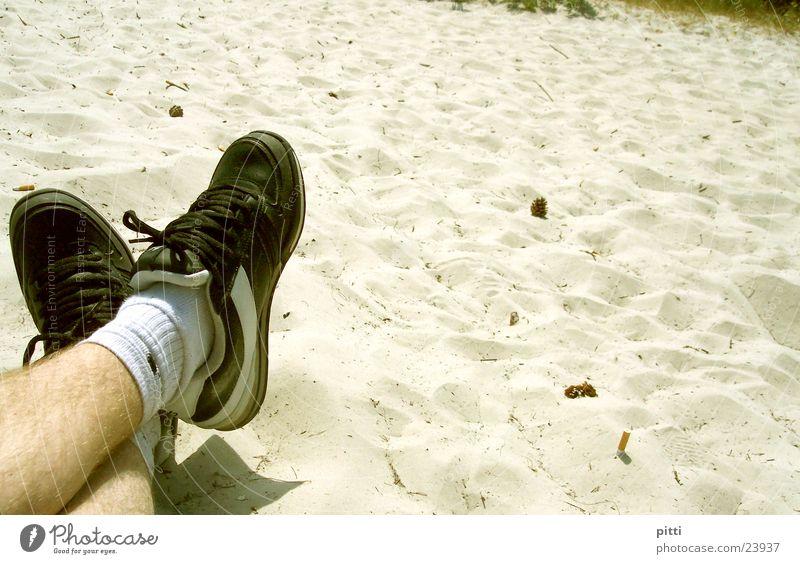 beach sand 2 Beach Footwear Relaxation Sand Legs
