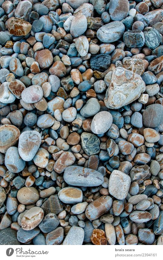 Pebbles background Nature Vacation & Travel Blue Summer Colour Beautiful Water Landscape Ocean Calm Beach Black Environment Natural Coast Stone