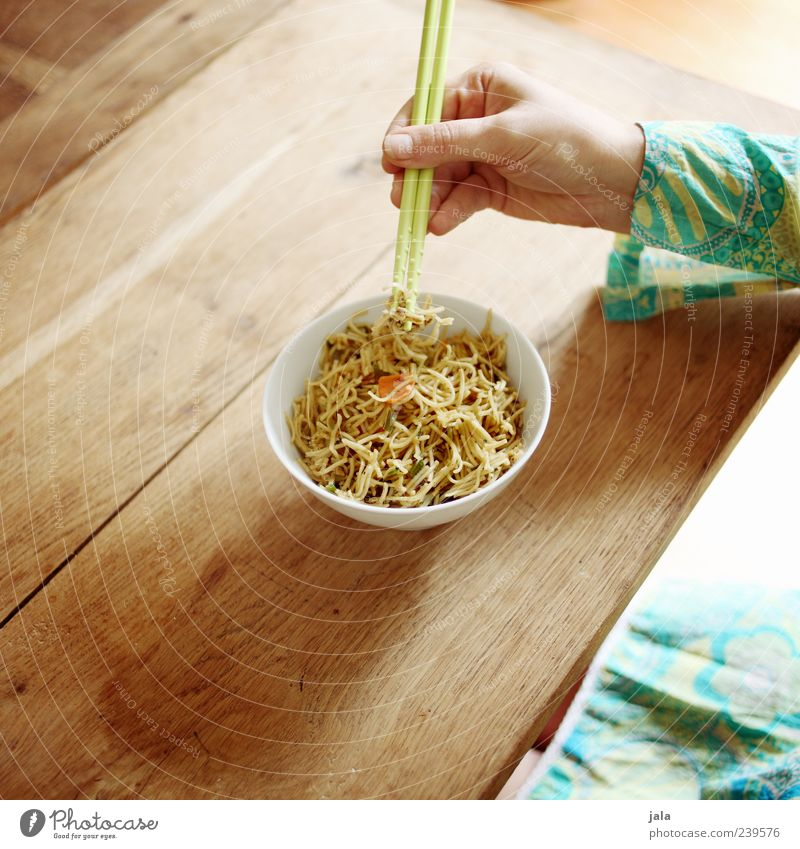Human being Woman Hand Adults Nutrition Feminine Food Eating Fingers Crockery Delicious Bowl Lunch Noodles Cutlery Vegetarian diet