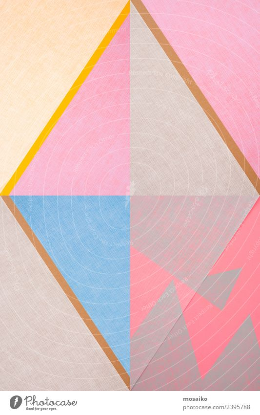 Rhombus - Graphic shapes Education Art Esthetic Elegant Point Trashy Blue Yellow Gray Pink Joy Euphoria Disciplined Design Uniqueness Colour Contentment Idea