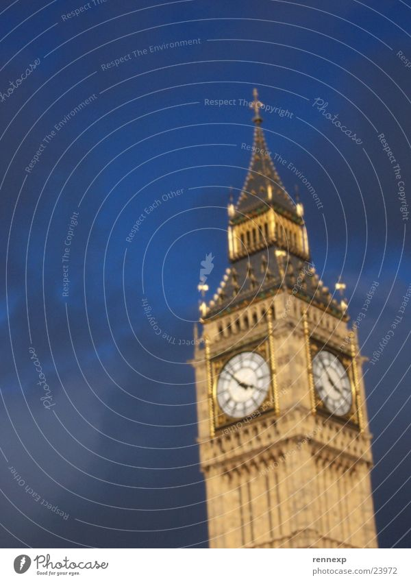 Sky Clouds Lighting Art Crazy Monument London Landmark England Tourist Attraction English Houses of Parliament Bell tower Big Ben