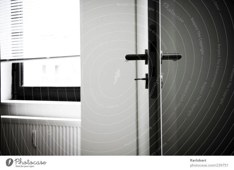 Loneliness Calm Window Dark Wall (building) Wall (barrier) Interior design Door Room Flat (apartment) Academic studies Living or residing Lifestyle Lock