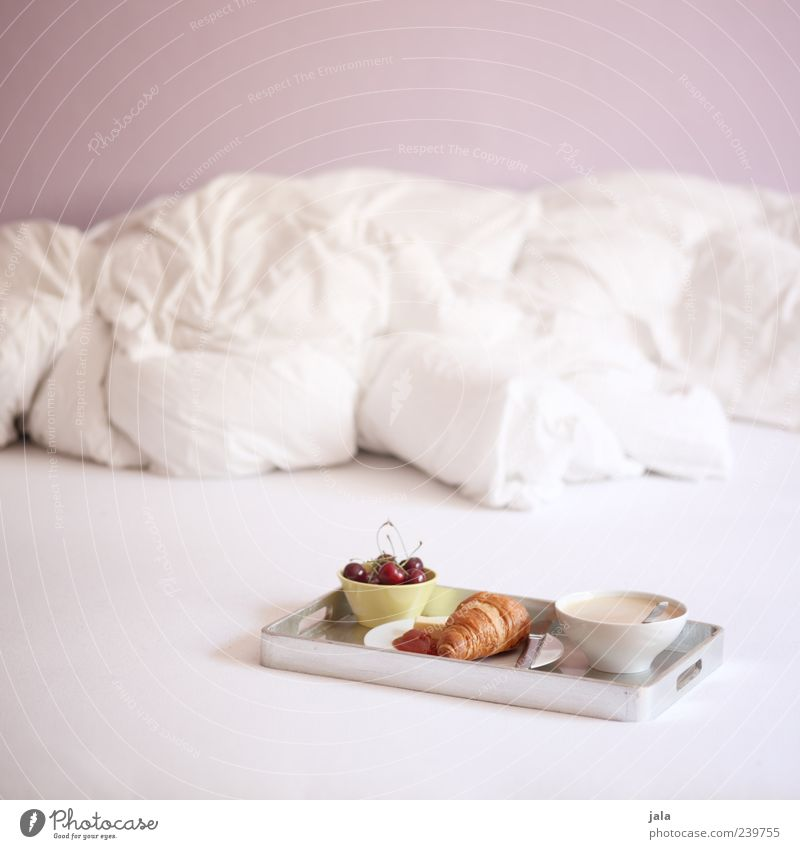 White Nutrition Food Fruit Pink Flat (apartment) Beverage Coffee Living or residing Bed Crockery Delicious Plate Breakfast Cozy Baked goods