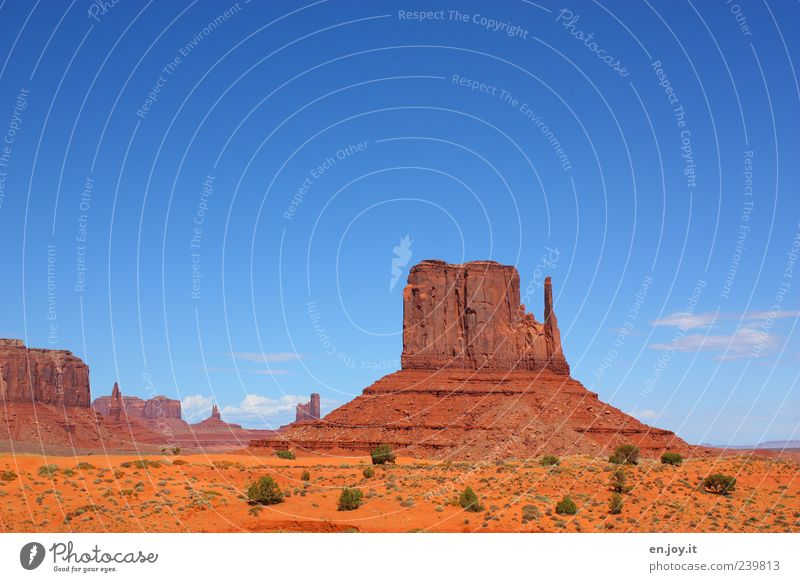Nature Blue Vacation & Travel Loneliness Far-off places Landscape Freedom Time Brown Rock Gold Exceptional Travel photography Uniqueness Desert Mysterious