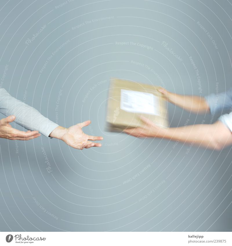 Return to sender Work and employment Economy Industry Trade Logistics Services Mail Company Team Human being Masculine Man Adults Arm Hand Fingers 2 To hold on