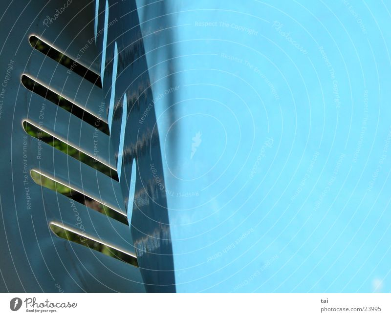 77° Abstract Air Photographic technology Shadow Blue Corner Illustration