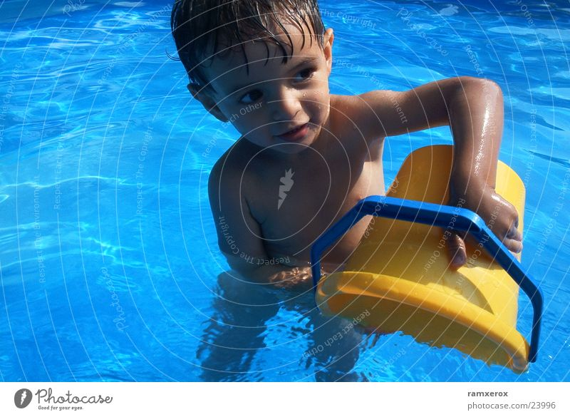 water features Toddler Swimming pool Summer Man Water Close-up