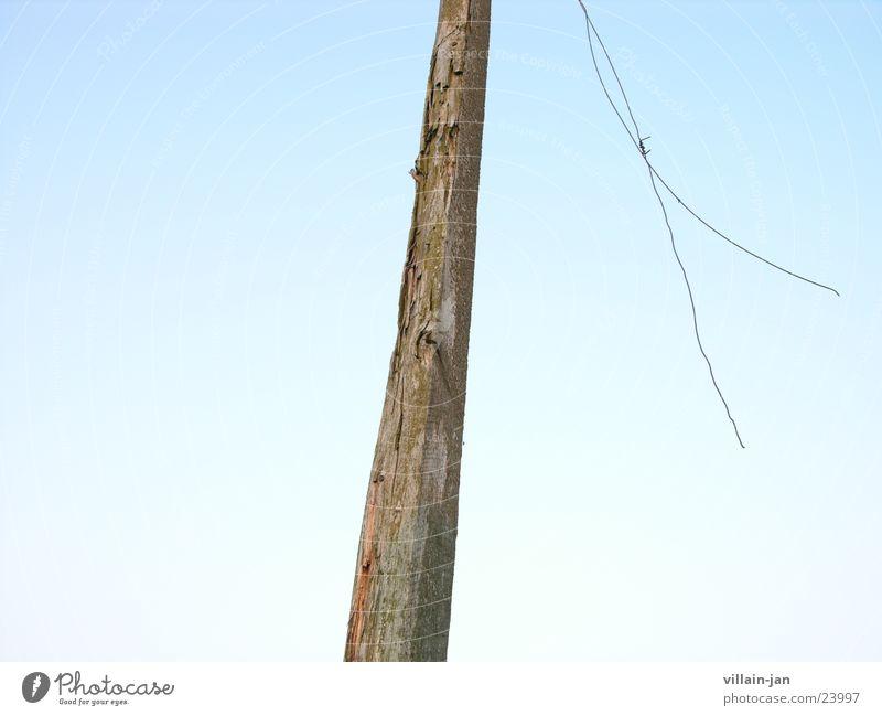 Sky Wood Wind Things Wire Wood grain Joist