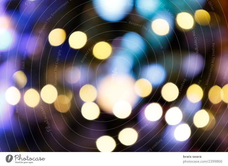 Bokeh lights Sky Nature Christmas & Advent Blue Colour Beautiful Landscape White Red Dark Black Love Happy Feasts & Celebrations Design Bright