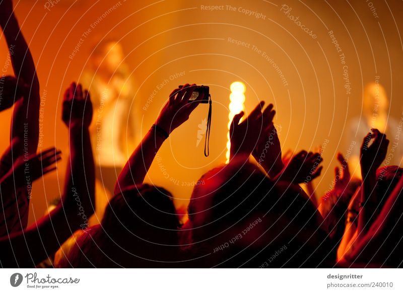 Human being Hand Music Photography Shows Concert Event Band Stage Crowd of people Youth culture Enthusiasm Fan Take a photo Musician Sympathy