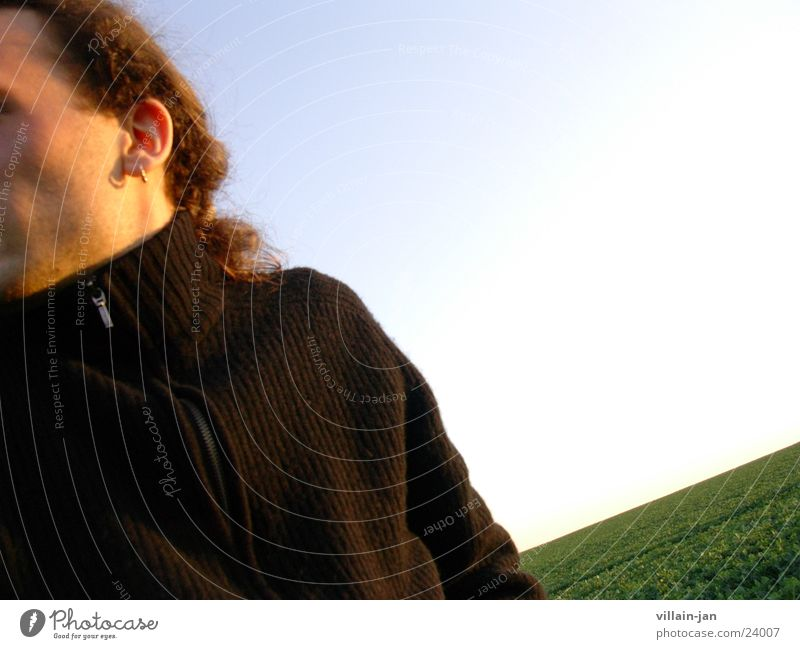 I must go away... Long-haired Meadow Man Movement Sky Haste