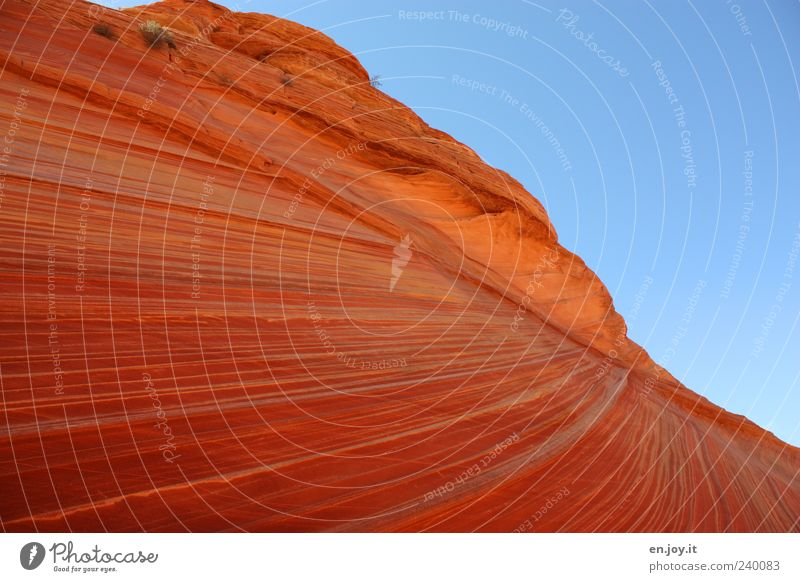 play of colors Vacation & Travel Tourism Nature Landscape Sky Rock Blue Red Wanderlust Bizarre Uniqueness Colour Miracle of Nature Coyote Buttes