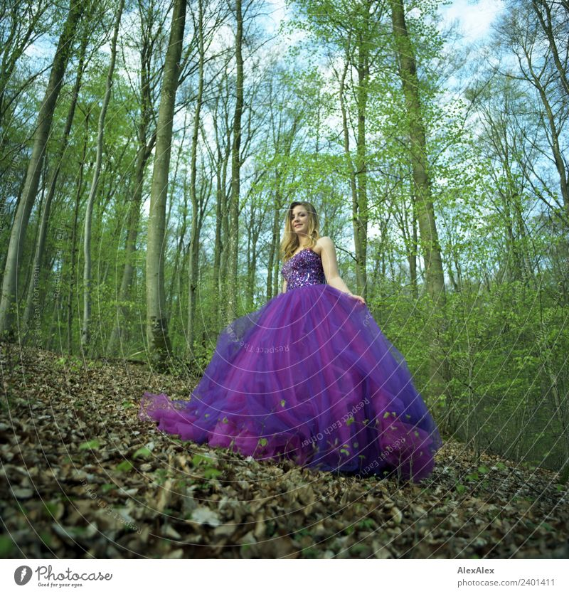 Nature Youth (Young adults) Young woman Town Beautiful Landscape Tree Leaf Forest 18 - 30 years Adults Lifestyle Style Trip Elegant Blonde