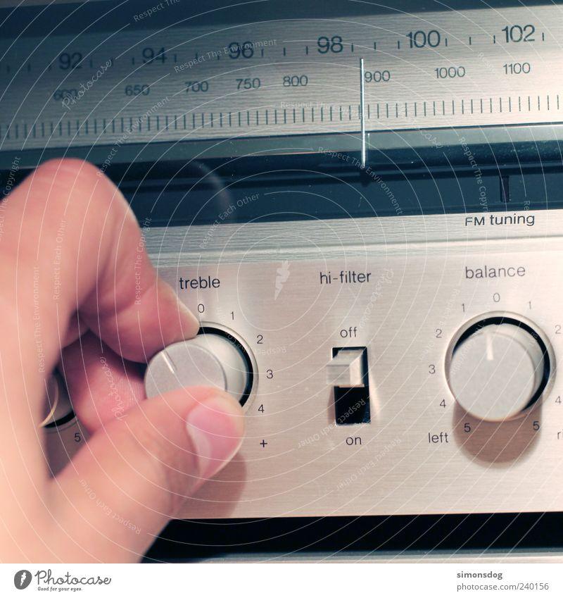 radio sound Radio (device) High-tech Listening Listen to music Hip & trendy Retro Design Music Sound system adjust Rotate Perfect Metal Precision Colour photo